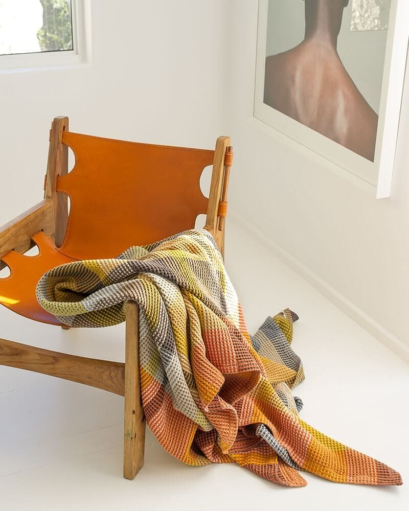 Mungo Throws and Blankets woven in South Africa